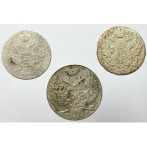Zabór rosyjski, zestaw 5 groszy 1816 i 5-10 groszy 1840
