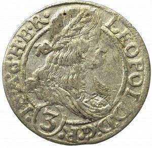 Schlesien under Habsburgs, Leopold I, 3 kreuzer 1666