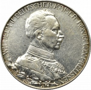 Germany, Preussen, 2 mark 1913 - 25 years of Wilhelm II reign