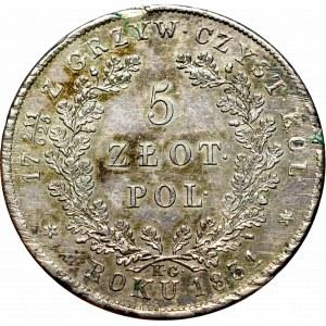 Powstanie Listopadowe, 5 złotych 1831