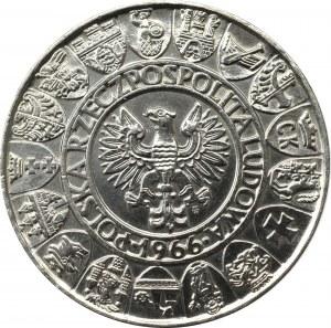 PRL, 100 złotych 1966 Mieszko i Dąbrówka Próba nikiel