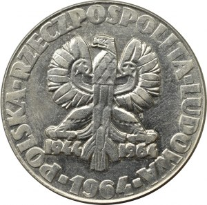 PRL, próba 20 złotych 1964 drzewko z.m. nikiel