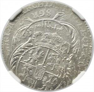 Germany, Saxony, Friedrich August II, 8 groschen 1753, Leipzig
