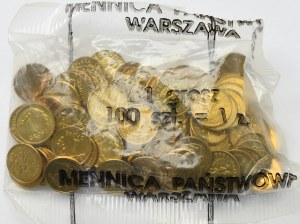 III RP, Woreczek menniczy 1 grosz 1993
