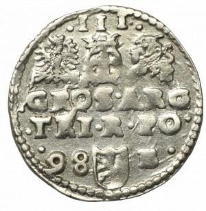 Sigismund III, 3 groschen 1598, Bromberg