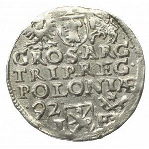 Sigismund III, 3 groschen 1592, Posen