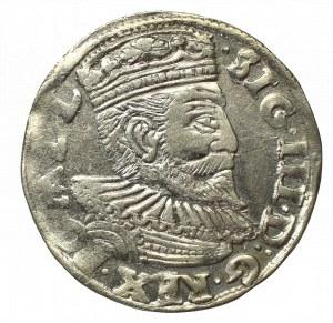 Zygmunt III Waza, Trojak 1595, Poznań