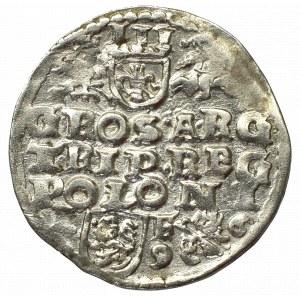 Sigismund III, 3 groschen 1596, Lublin