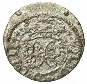 Zygmunt III Waza, Szeląg 1618, Wilno - bez herbu Podskarbiego