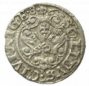 Stephan Bathory, Schilling 1586, Riga