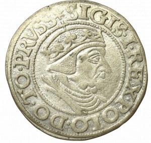 Sigismund I the Old, Groschen 1538, Danzig