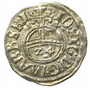 Prusy Książęce, Jan Zygmunt, Półtorak 1614, Królewiec