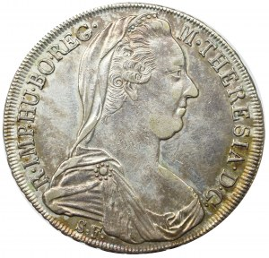 Austro-Hungaria, Marie Theresia, Thaler 1780 - restrike 1815
