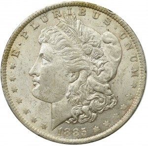 USA, Morgan Dolar 1885 Nowy Orlean