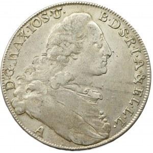 Germany, Bavaria, Maximilian Joseph, thaler 1773