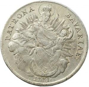 Germany, Bavaria, Maximilian Joseph, thaler 1771