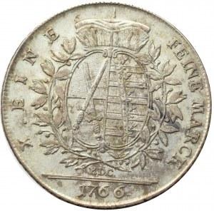Germany, Saxony, Friedrich August III, taler 1766