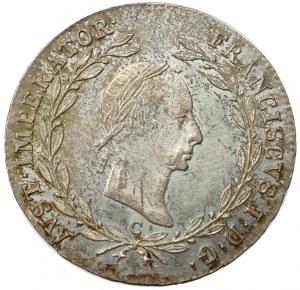 Austria, Franz I, 20 kreuzer 1830