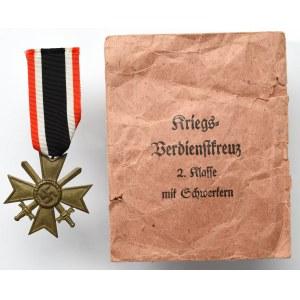 Niemcy, III Rzesza, Krzyż Zasługi Wojennej (KVK) 2 klasy z mieczami