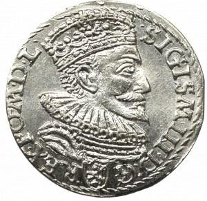Zygmunt III Waza, Trojak 1593, Malbork - nieopisany