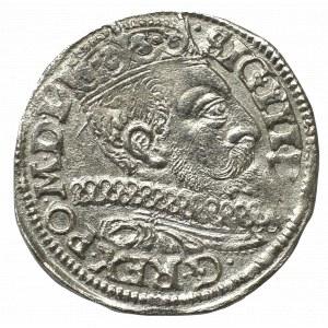 Zygmunt III Waza, Trojak 1597, Poznań - NIEOPISANE POPIERSIE