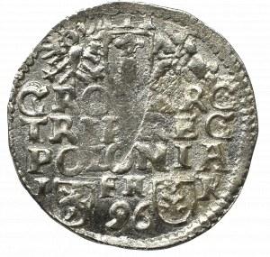 Zygmunt III Waza, Trojak 1596, Poznań