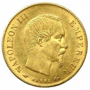 France, 10 francs 1859 A