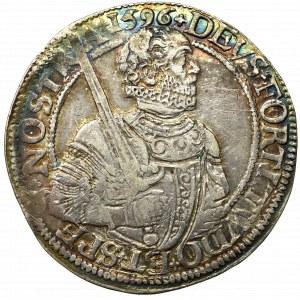Niderlandy, Fryzja Zachodnia, Rijksdaalder 1596 - rzadki