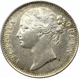 Indie brytyjskie, 1 Rupia 1840 - 28 jagódek
