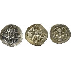 Sasanidzi, Zestaw 3 drachm
