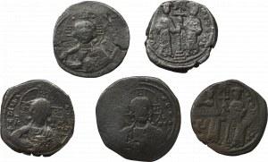 Bizancjum, Zestaw 5 brązów