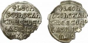 Byzantine, Leon V and Constantin, Miliaresion lot
