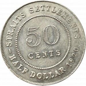 Malezja, 50 centów 1920