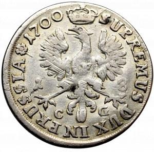 Prusy Książęce, Fryderyk III, Ort 1700, Królewiec