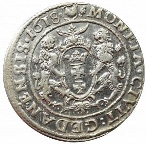 Zygmunt III Waza, Ort 1618, Gdańsk