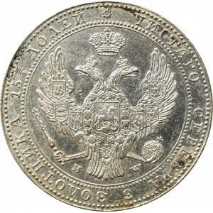Poland under Russia, Nicholas I, 3/4 rouble=5 zloty 1838 MW