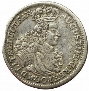 Germany, Saxony, Friedrich August I, 6 groschen 1702, Leipzig