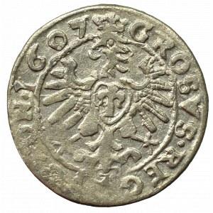 Sigismund III, Groschen 1607, Cracow