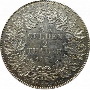 Niemcy, Frankfurt, 3-1/2 guldena=2 talary 1841