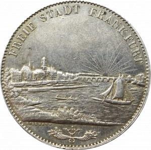 Germany, Frankfurt, 3-1/2 gulden=2 thaler 1841