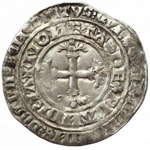 Niderlandy, Flandria, Ludwik von Male (1346-1384), Grosz podwójny