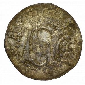 Śląsk, Żary, Jan von Biberstein 1340-1424, Halerz - rzadkość