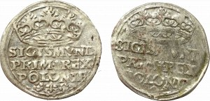 Sigismund I the Old, Lot of groschen 1527 and 1528 Cracow