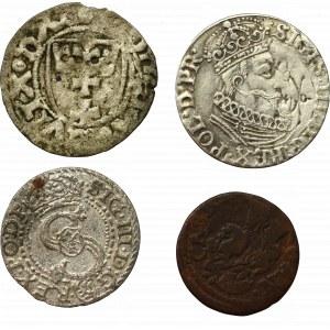 Zestaw monet polskich