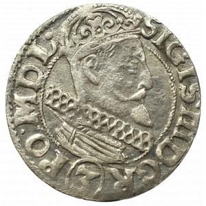 Sigismund III, 3 kreuzer 1615, Cracow