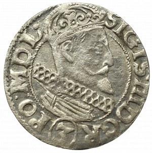 Zygmunt III Waza, Trzykrucierzówka 1615, Kraków