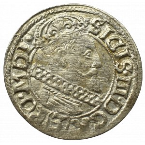 Sigismund III, 3 kreuzer 1617, Cracow