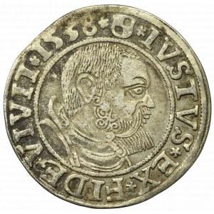 Germany, Preussen, Albrecht Hohenzollern, Groschen 1538, Konigsberg