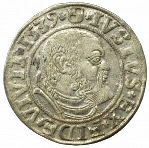 Prusy Książęce, Albreht Hohenzollern, Grosz 1539, Królewiec