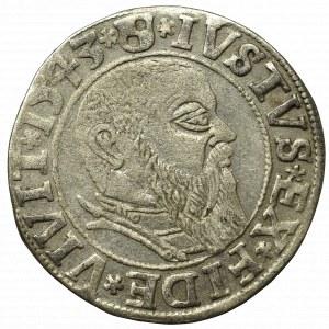 Prusy Książęce, Albrecht Hohenzollern, Grosz 1543, Królewiec